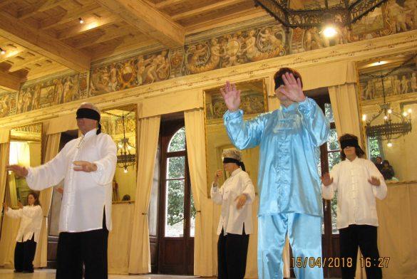 Dimostrazioni taichi Villa Sossnosky